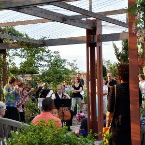 Musicians at the Rose Bower (Music in the Gardens)