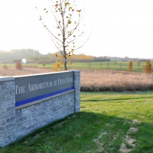 The Arboretum's sign near the intersection of Park Avenue and Bigler Road