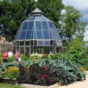 Glass House and Harvest Gardens