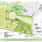 Concept Plan for Expanded and Redesigned Pollinators' Garden