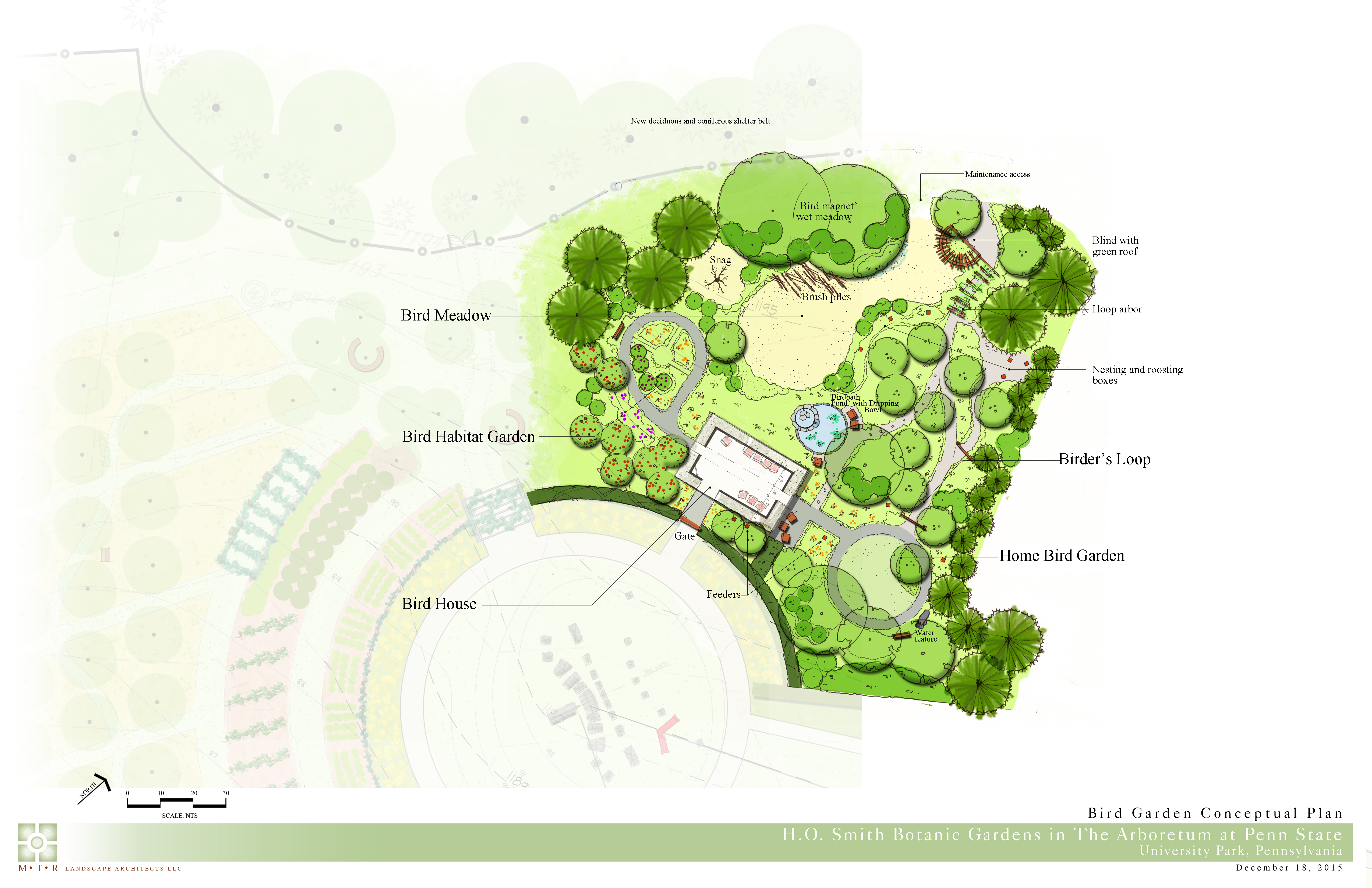 Future gardens arboretum at penn state for Planning your garden layout